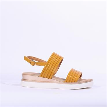 Repo Pipe Style Slingback Sandal - Yellow