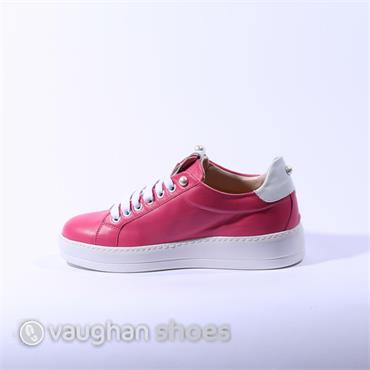 Oxitaly Casual Lace Up Sneaker - Pink