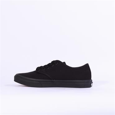 VANS CAMDEN STRIPE CANVAS LACE - Black