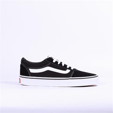 Vans Ward Suede Canvas - Black White