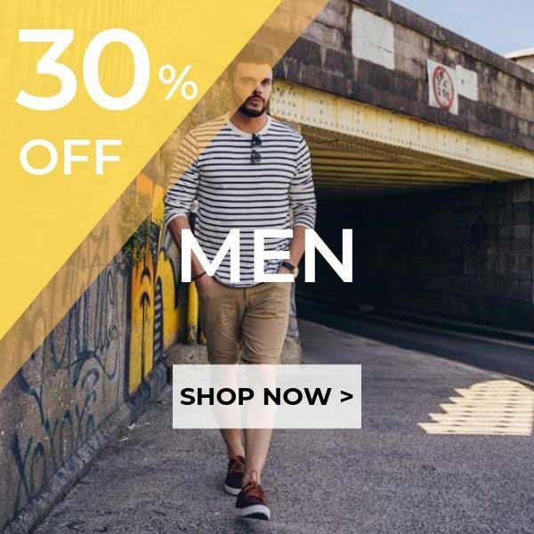 20% OFF Men