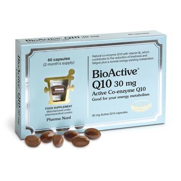 PHARMANORD BIOACTIVE Q10 30MG TWO MONTH 60 CAPS