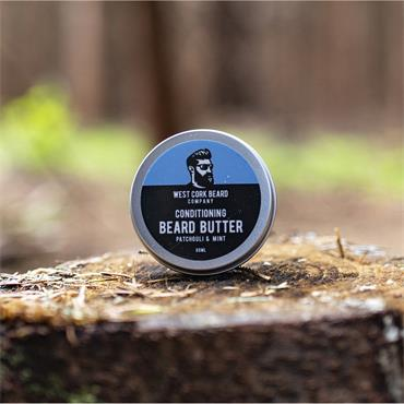 WEST CORK BEARD COMPANY CONDITIONING BEARD BUTTER PATCHOULI AND MINT