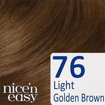 CLAIROL NICE N EASY 76 LIGHT GOLDEN BROWN