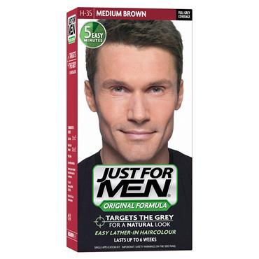 JUST FOR MEN  MEDIUM BROWN H35