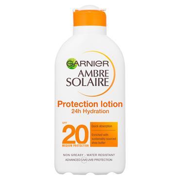 GARNIER AMBRE SOLAIRE PROTECTING F20 LOTION 200ML