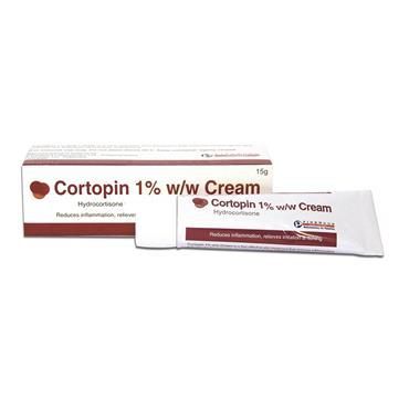 CORTOPIN 1% HYDROCORTISONE CREAM