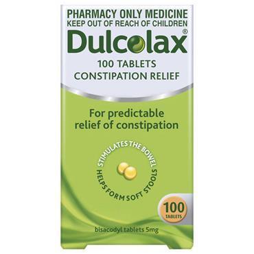 DULCOLAX 5MG TABLETS 100S