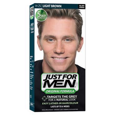 JUST FOR MEN  LIGHT BROWN H25