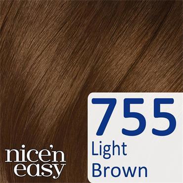 CLAIROL NICE N EASY 755 LIGHT BROWN