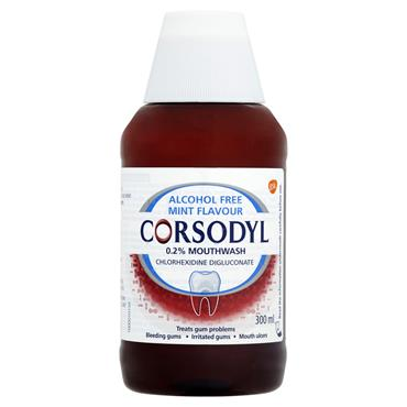 CORSODYL MOUTHWASH MINT 300ML
