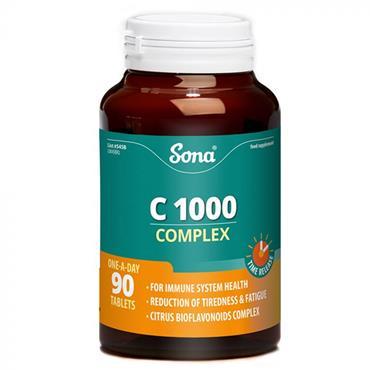 SONA VIT C COMPLEX 1000MG 90S S45B