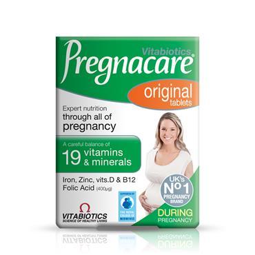 VITABIOTICS PREGNACARE ORIGINAL 30 TABLETS