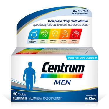 CENTRUM MEN 60 TABS
