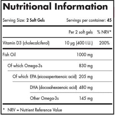 NORDIC NATURALS PRENATAL DHA 90 SOFT GELS