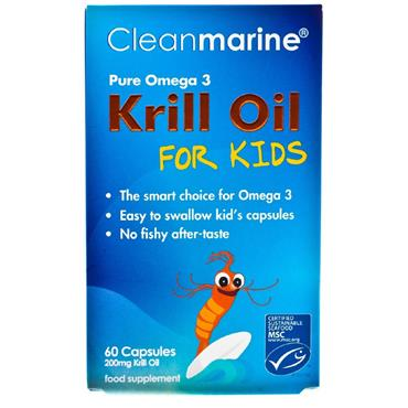 CLEANMARINE KRILL OIL FOR KIDS 60 CAPS