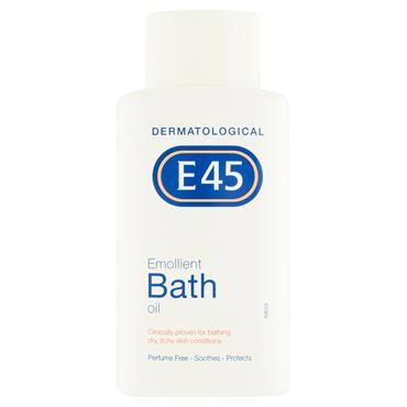 E45 EMOLLIENT BATH OIL 250ML