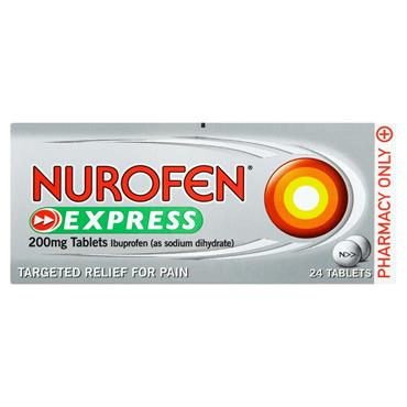 NUROFEN EXPRESS 200MG 24 TABS