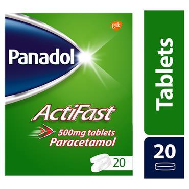 PANADOL ACTIFAST 20 TABS