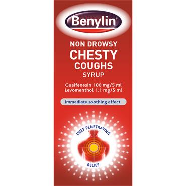 BENYLIN NON-DROWSY FOR CHESTY COUGHS