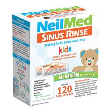 NEILMED SINUS RINSE PAEDIATRIC 120 SACHETS