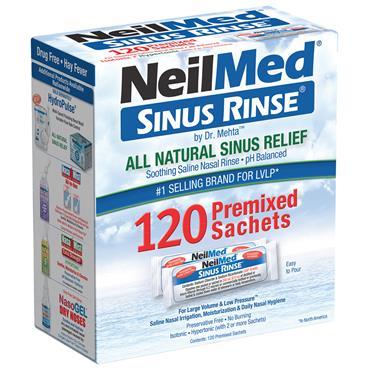NEILMED SINUS RINSE 120 SACHETS