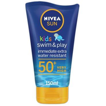 NIVEA SUN KIDS SWIMPLAY F50 150ML