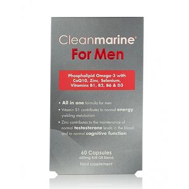 CLEANMARINE KRILL OIL FOR MEN 60CAPS