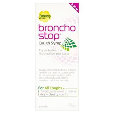 BUTTERCUP BRONCHOSTOP SYRUP 200ML