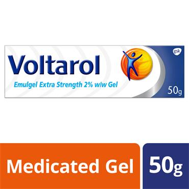 VOLTAROL EMULGEL EXTRA STRENGHT 2% GEL 50G