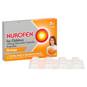NUROFEN  FOR CHILDREN 7  SOFT CHEWABLE