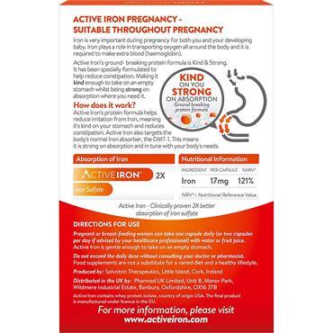 ACTIVE IRON PREGNANCY 30 CAPS