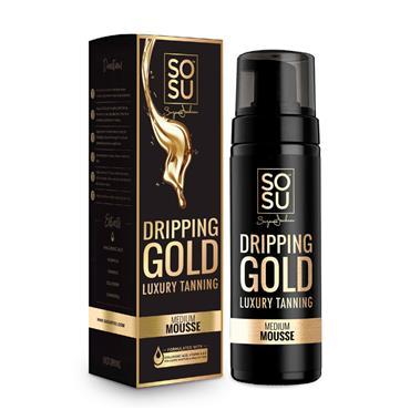 SOSU DRIPPING GOLD MEDIUM MOUSSE