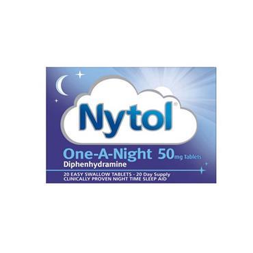 NYTOL ONE A NIGHT 50MG TABS  20TABS