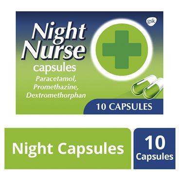 NIGHT NURSE CAPSULES 10S