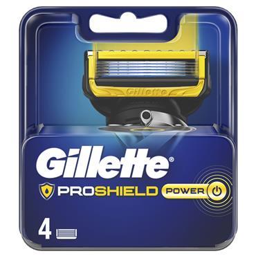 GILLETTE PROSHIELD POWER RZR BLD X4