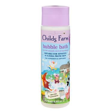 CHILDS FARM BUBBLE BATH TANGERINE L PINK 250ML