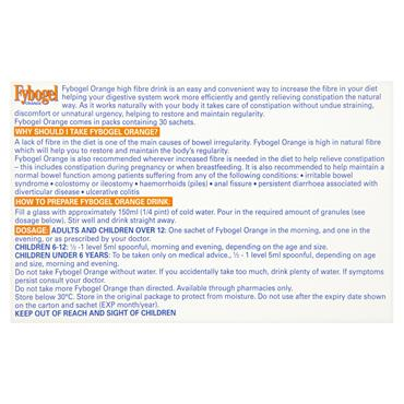 FYBOGEL ORANGE 3 5G GRANULES 30SACH