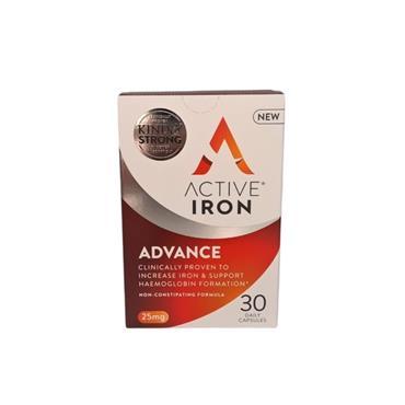 SOLVOTRIN ACTIVE IRON CAPS 30