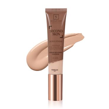 SCULPTED BY AIMEE SECOND SKIN DEWY PORCELAIN NO 1.0 30ML