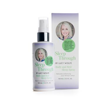 SLEEP THROUGH BY LUCY WOLFE BODY AND BED SLEEP SPRAY