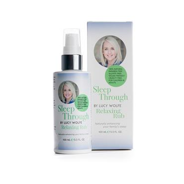 SLEEP THROUGH BY LUCY WOLFE RELAXING RUB 100ML