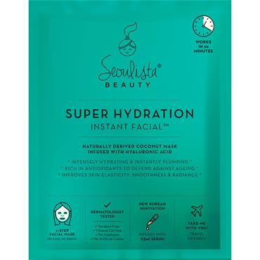 SEOULISTA SUPER HYDRATION INSTANT FACIAL 20S
