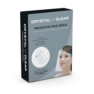 CRYSTAL CLEAR FACE GUARD