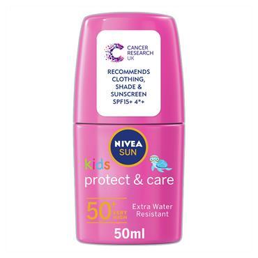 NIVEA Sun Kids Protect & Play  Roll On SPF 50+ PINK 50ml