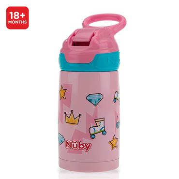 Nuby Thirsty Kids Active Robo Cup Girl 18M+ 300ml