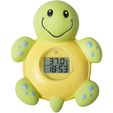 Nuby Bath Clock & Thermometer 0M+