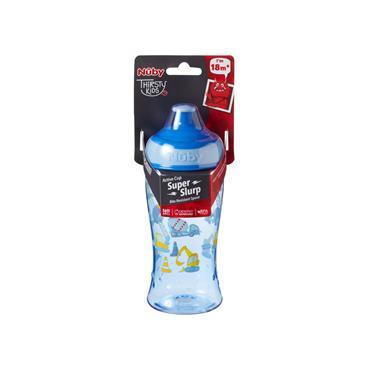 Nuby Thirsty Kids Active cup Super Slurp Boy 18M+