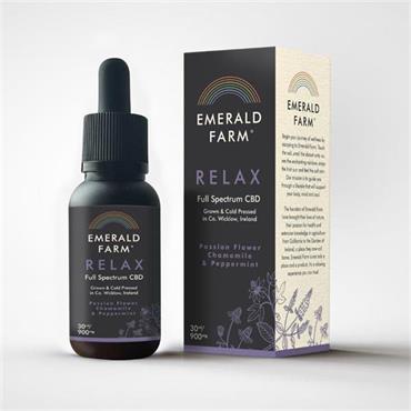 EMERALD FARM RELAX FULL SPECTRUM CBD OIL 30ML