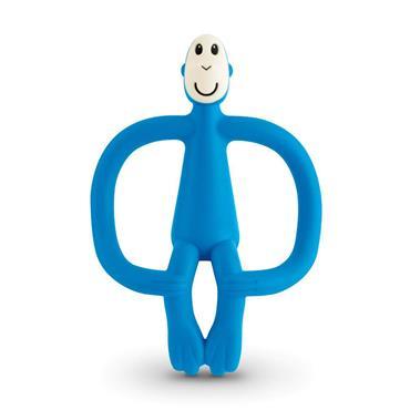 Matchstick Monkey Monkey Teether Blue
